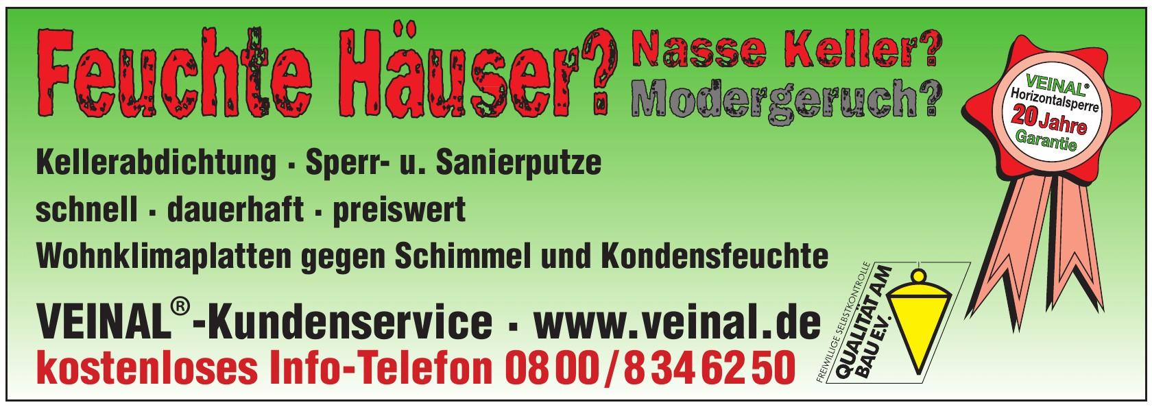 VEINAL®-Kundenservice
