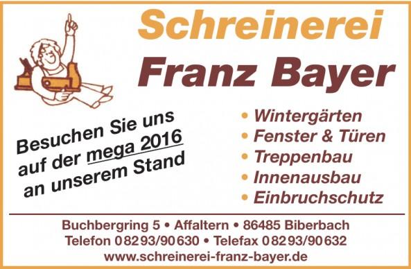 Schreinerei Franz Bayer