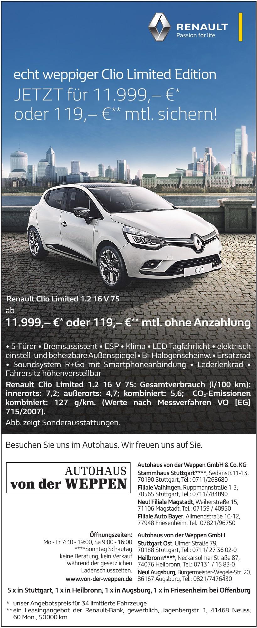 Autohaus von der Weppen GmbH & Co. KG