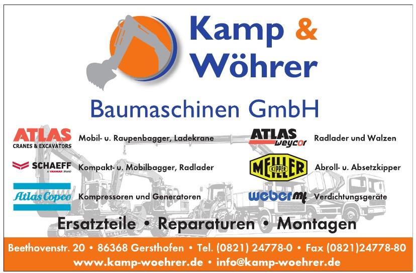 Kamp & Wöhrer Baumaschinen GmbH
