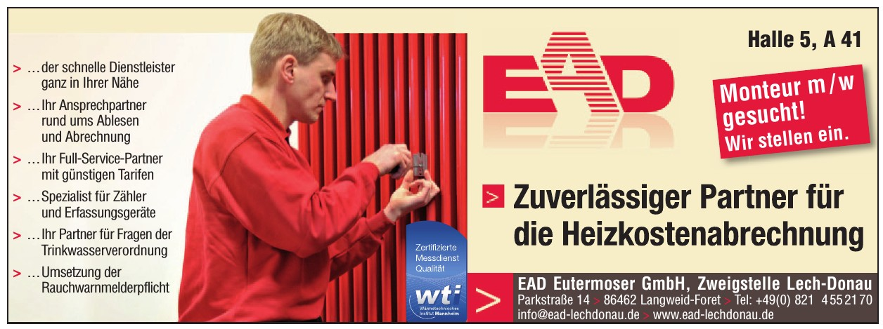 EAD Eutermoser GmbH, Zweigstelle Lech-Donau