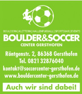 Boulder&Soccer Center Gersthofen