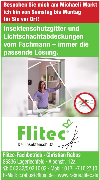 Flitec-Fachbetrieb - Christian Rabus
