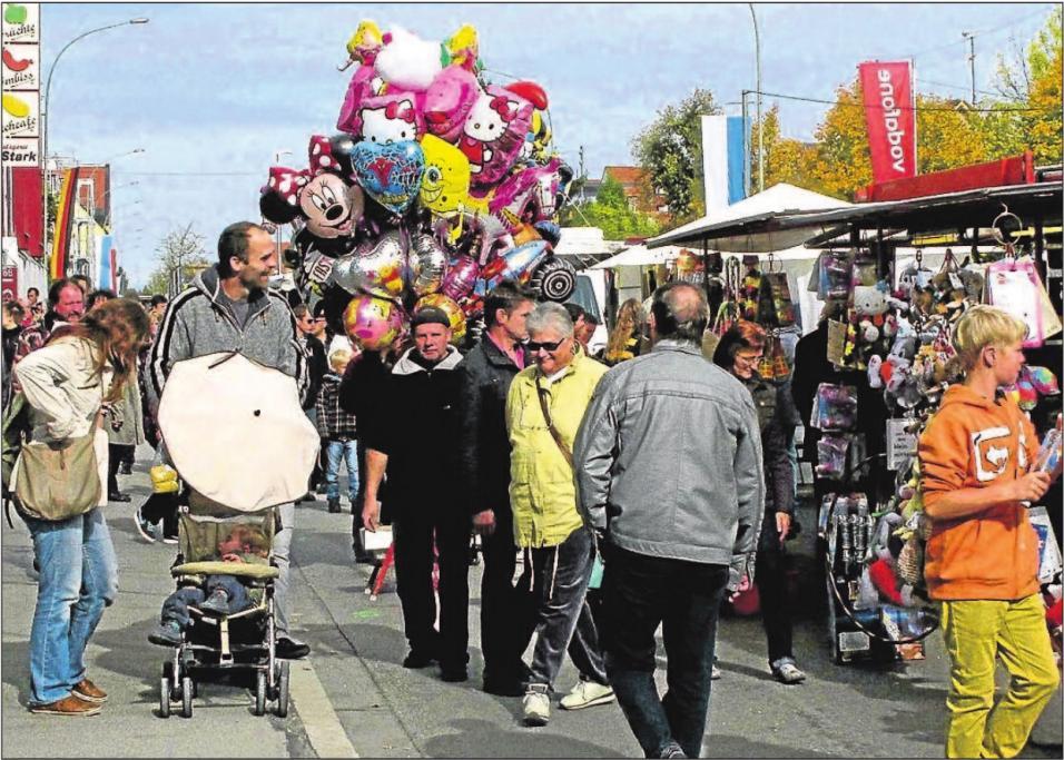 Der Königsbrunner Markt ist jedes Jahr ein besonderer Besuchermagnet. Foto: Archiv