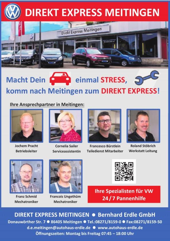 Direkt Express Meitingen, Bernhard Erdle GmbH