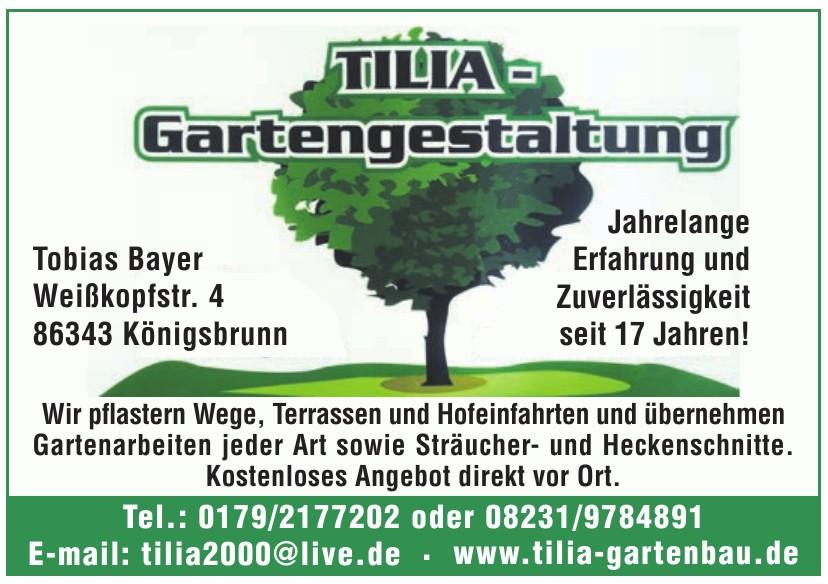 Tilia Gartengestaltung