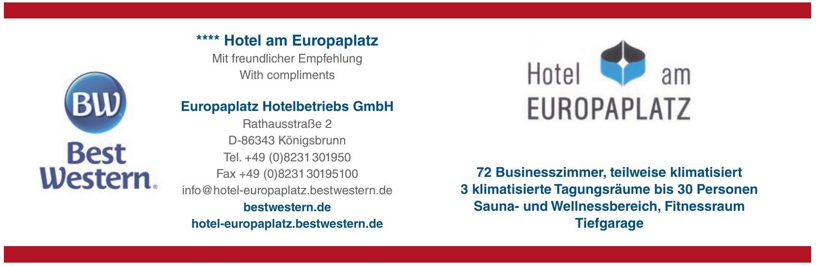 Europaplatz Hotelbetriebs GmbH
