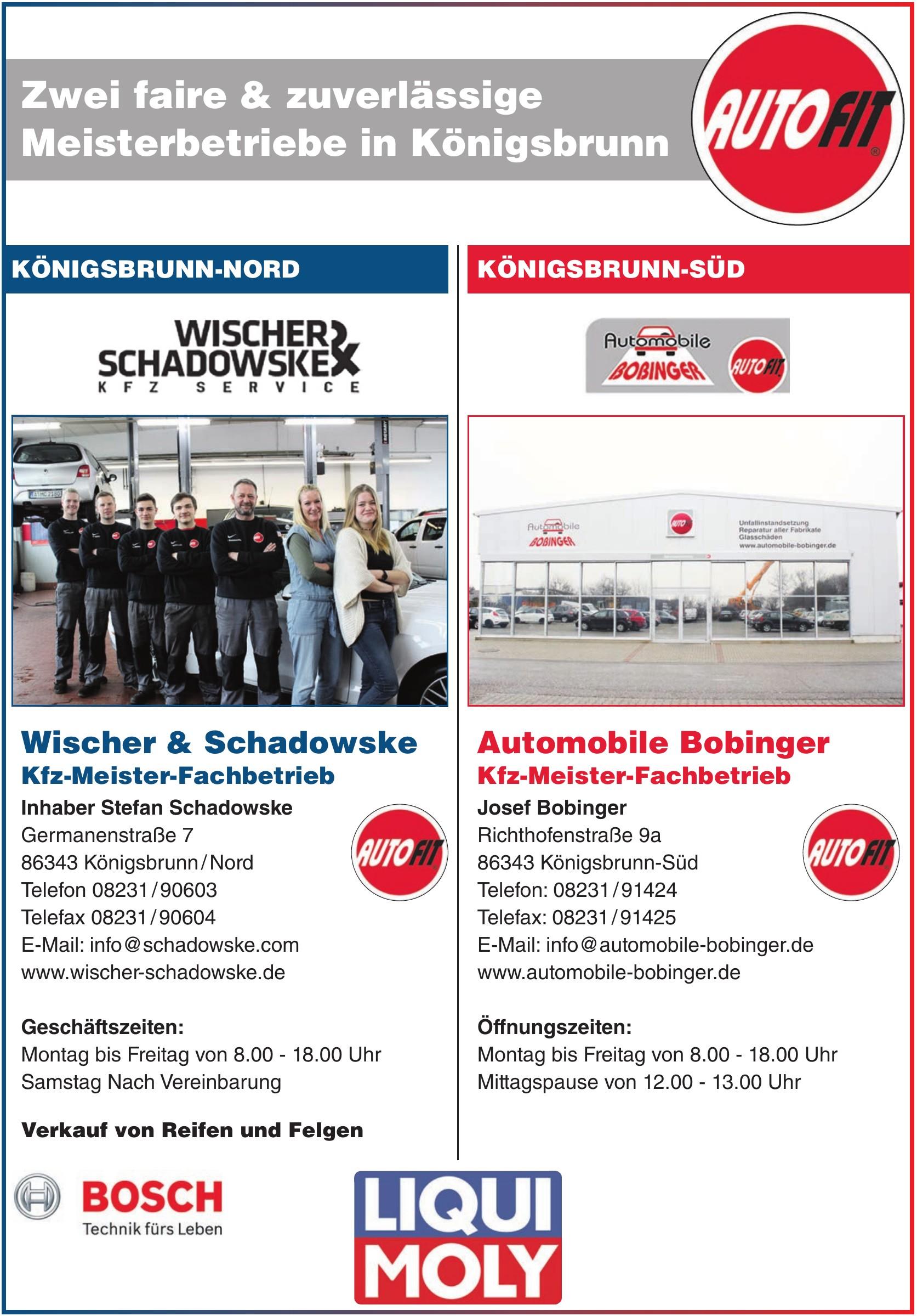 Wischer & Schadowske Kfz-Meister-Fachbetrieb