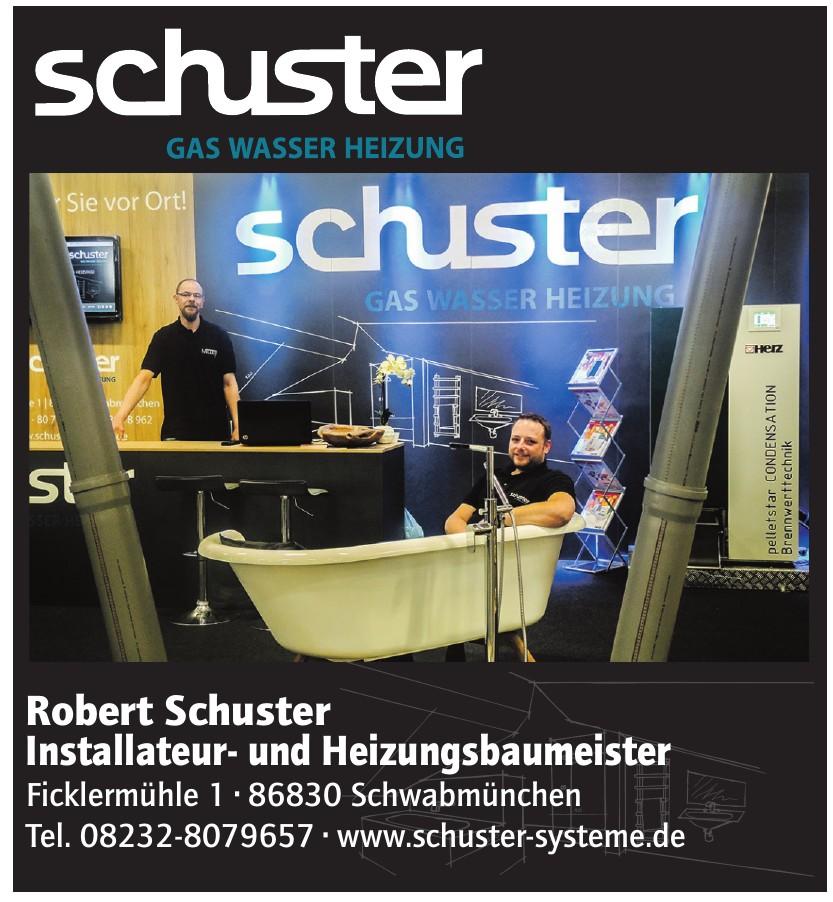Robert Schuster Installateuer- und Heizungsbaumeister