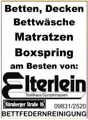 Textilhaus Elterlein