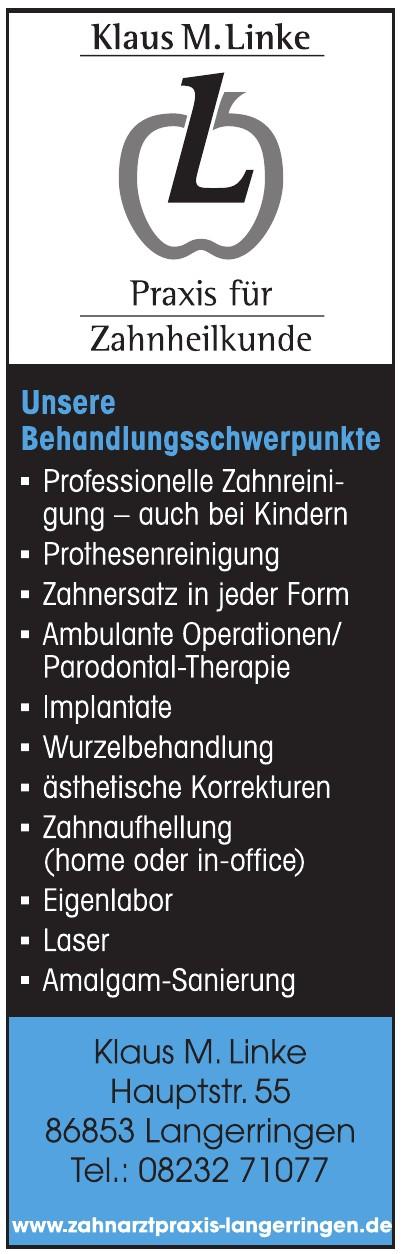 Klaus M. Linke - Praxis für Zahnheilkunde