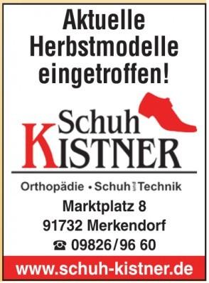 Kistner Orthopädie Schuh und Technik