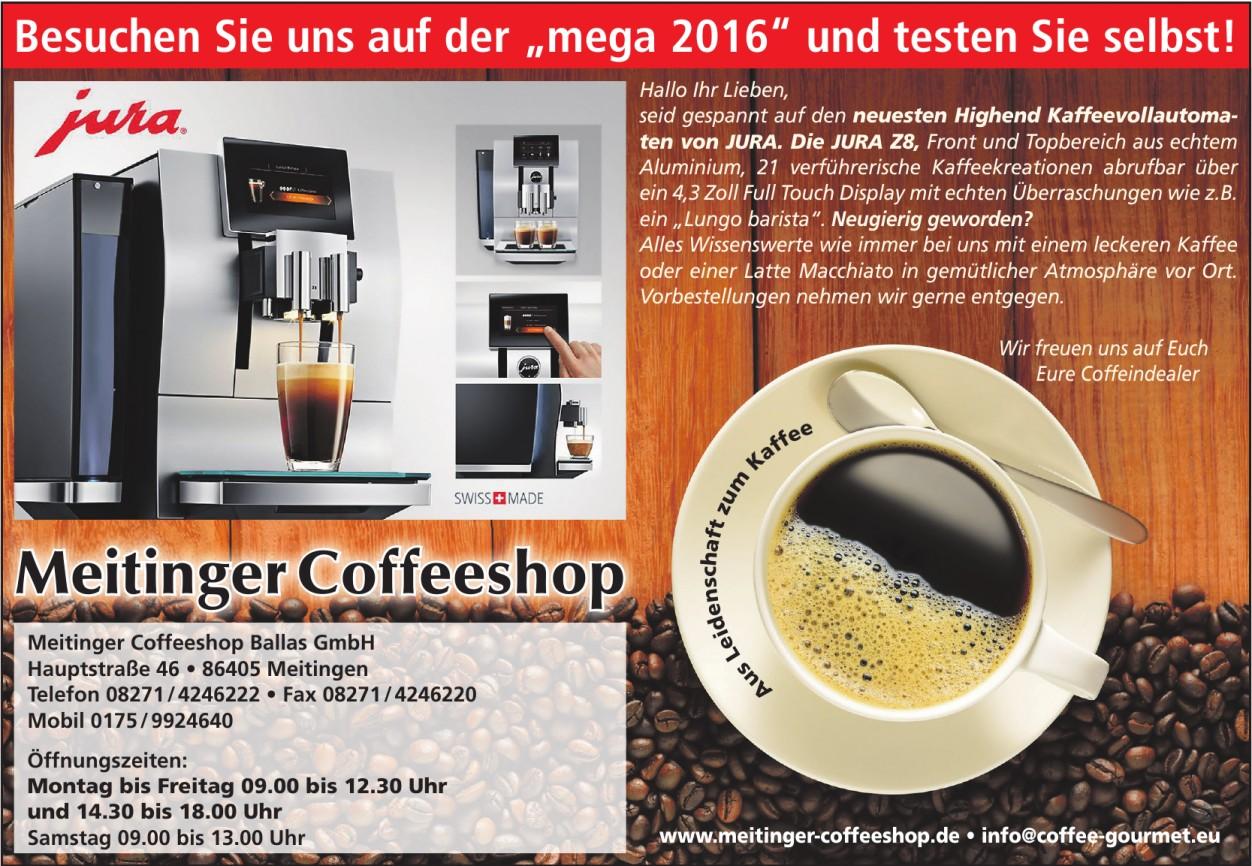 Meitinger Coffeeshop Ballas GmbH