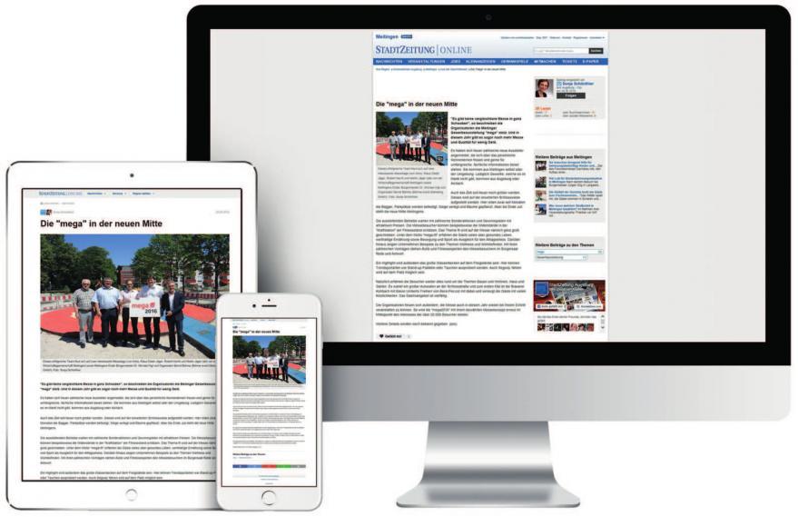 Die StadtZeitung verbindet mit dem Print & Online-Stellenmarkt das Beste aus der Print- und Onlinewelt für Arbeitgeber und Arbeitnehmer aus der Region. Foto: Roman Sellherr