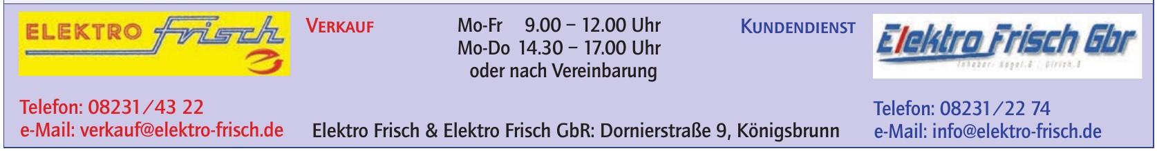 Elektro Frisch & Elektro Frisch Gbr