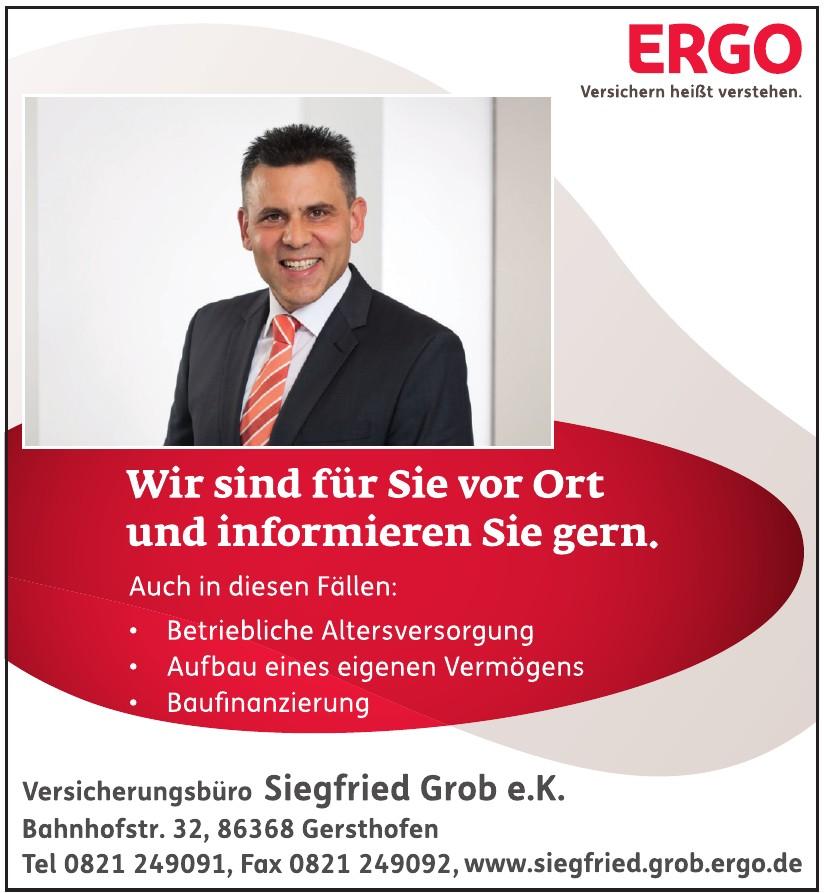 Ergo - Versicherungsbüro Siegfried Grob e.K.