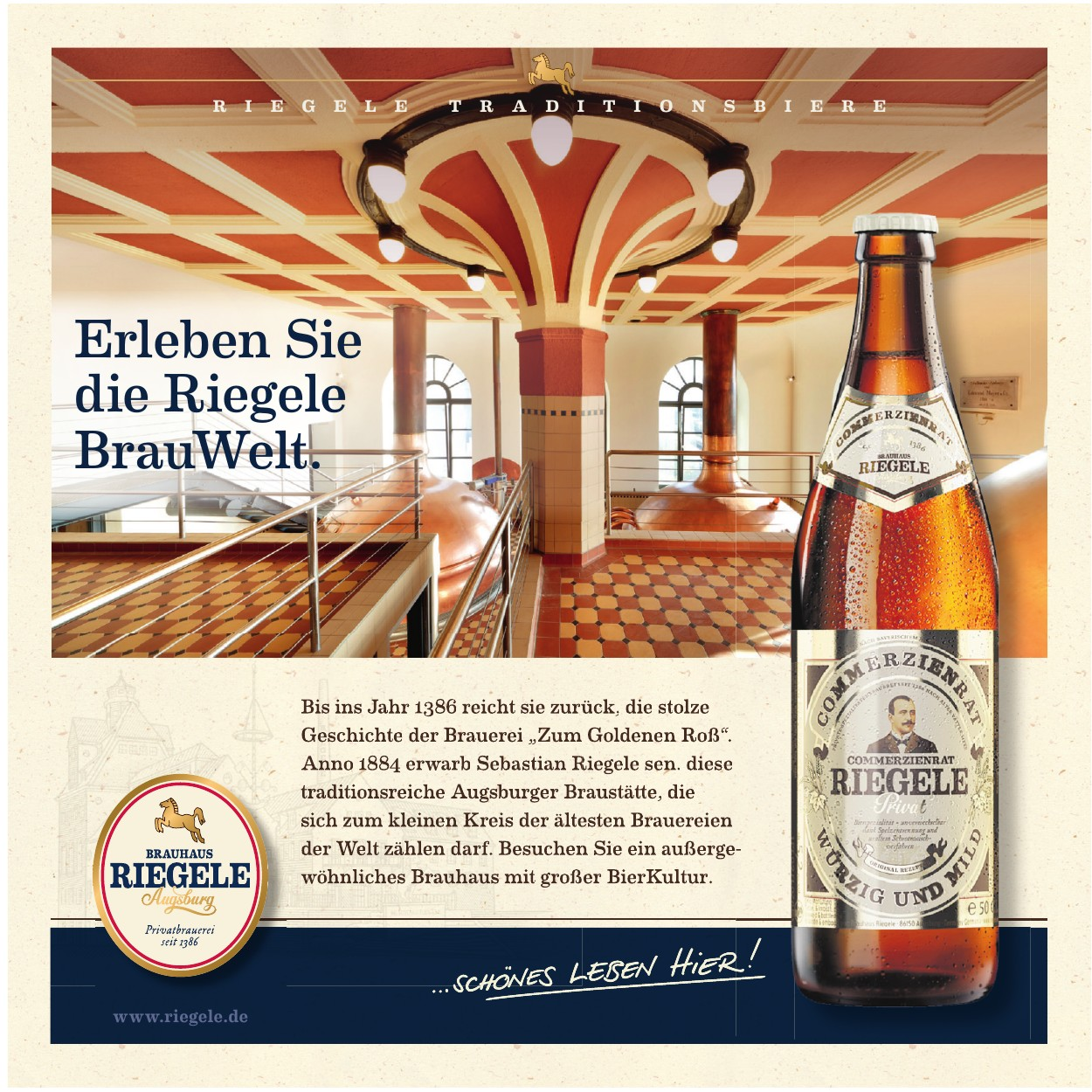 Riegele Traditions Biere