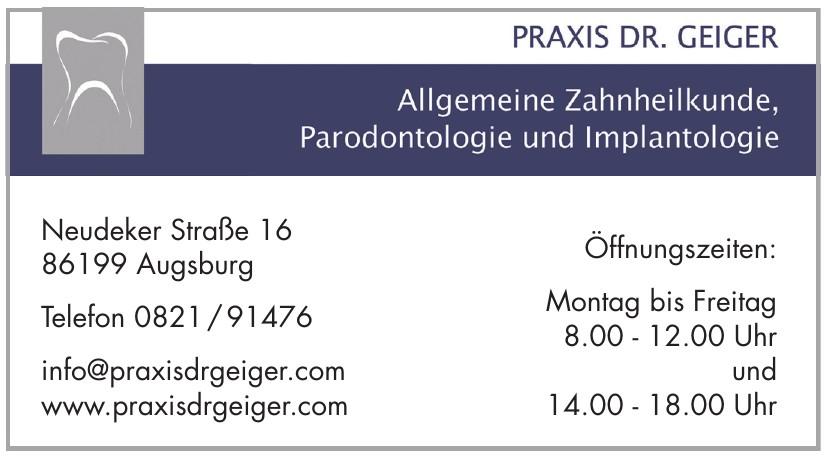 Praxis Dr. Geiger