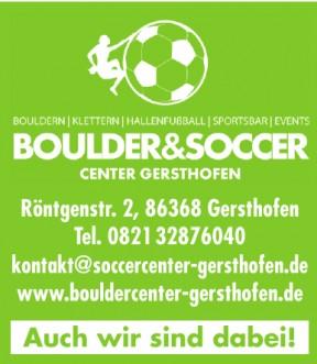 Boulder&Soccer Center Gersthofen
