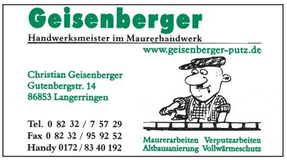 Christian Geisenberger