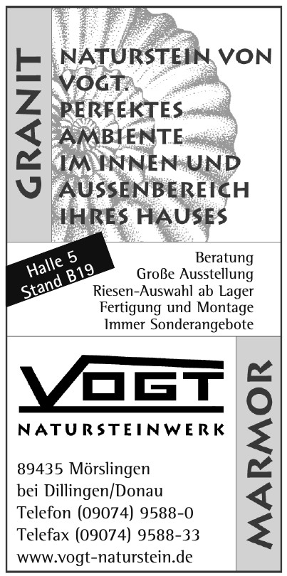 VOGT Natursteinwerk