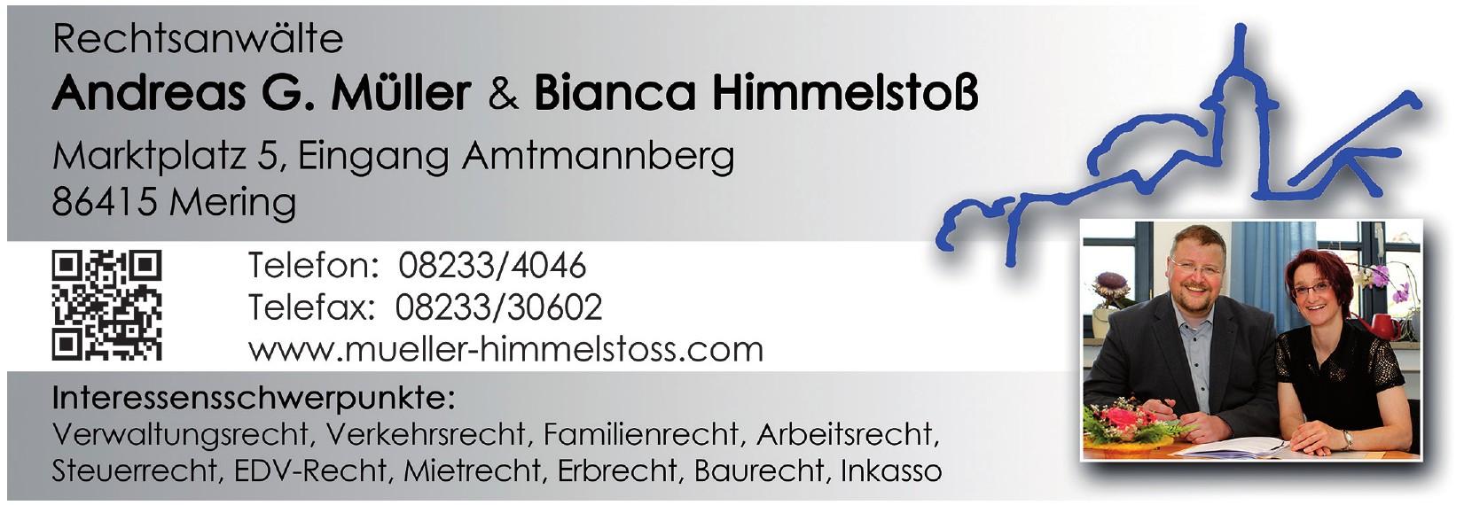 Rechtsanwälte Andreas G. Müller & Bianca Himmelstoß