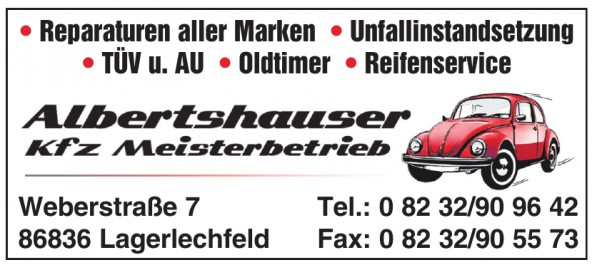 Albertshauser Kfz Meisterbetrieb