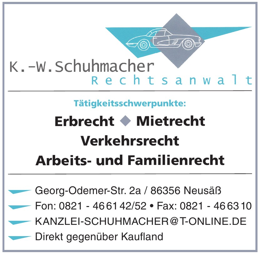 K.-W. Schuhmacher Rechtsanwalt