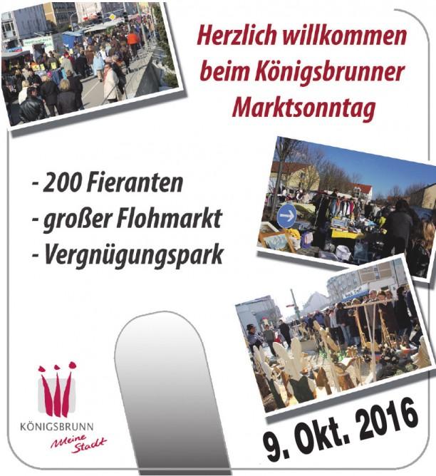 Königsbrunner Marktsonntag