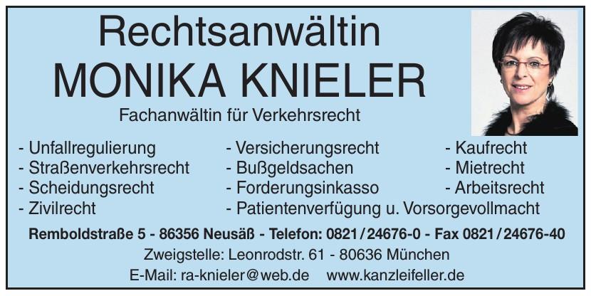 Rechtsanwältin Monika Knieler