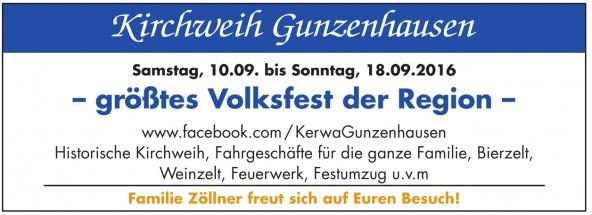 Kirchweih Gunzenhausen